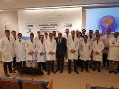 Inauguração do centro de radiocirurgia do instituto estadual do cérebro paulo niemeyer .