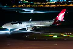 Qantas Airbus A330-202 VH-EBM (Mark Harris photography) Tags: spotitng plane aviation canon 5d wsss changi