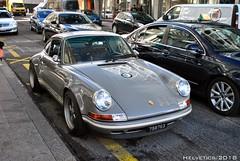 Porsche 911 Singer 4.0 - Qatar (Helvetics_VS) Tags: licenseplate qatar oldcars sportcars porsche 911 singer