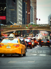 42nd Street traffic at Pershing Square (@KevinCase) Tags: city citylife grandcentralstation kevdia kevincase manhattan nyc nyclife newyorkcity omdem5 olympus olympusomd pershingsquare roadway taxi traffic urban