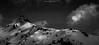 Alpenglow Ridge (Frédéric Fossard) Tags: landscape snow mountain sky nuages clouds lumière ombre altitude cimes crêtes arêtes alpes savoie vanoise alpenglow snowcapped snowcovered flancdemontagne mountainside mountainridge sommet aiguillerocheuse mountainpeak monochrome noiretblanc blackandwhite rocger atmosphère dramatique mood lueur picdemontagne