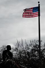 DSC_0074 (bigbuddy1988) Tags: people portrait photography nikon usa flag ny newyork digital new sky man outdoors art d80 dusk