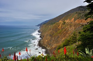 Taking in the California Coastline and the Pacific Ocean