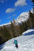 si scende su neve soffice (Tabboz) Tags: montagna neve nuvole cima panorama ciaspole cielo sentiero salita valzoldana vetta rifugio bosco