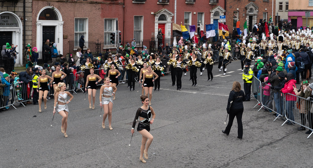 PURDUE ALL AMERICAN MARCHING BAND [DUBLIN PARADE 17 MARCH 2018]-137679