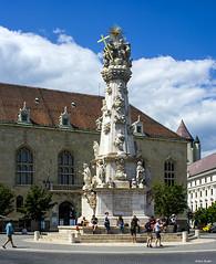 150626144 (Xeraphin) Tags: hungary budapest buda castle unescoworldheritagesite budavári szentháromságszobor trinity statue blackdeath plague monument vereio ungleich ter square