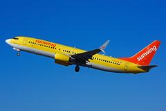 C-FTUA (Sunwing Airlines) (Steelhead 2010) Tags: sunwingairlines boeing b737 b737800 tuifly yhm creg cftua datua