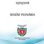 Sessão Plenária 12/03/2018