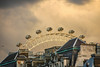 What about a different angle... (@petra) Tags: london cityscape oldhouses wheel londoneye sky clouds travel nikon