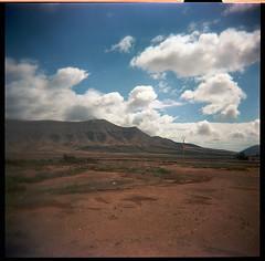 Holga204_3 (Ghostwriter D.) Tags: 2017 holga holga120n 6x6 analog 120 middleformat fuerteventura island isla islascanarias canaryisland canarias lomo cross xcross clouds elcotillo