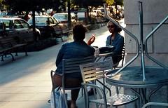 smoke break, Washington DC. September 2003. (brunofish) Tags: c copyrighted material brian fish aka brunosih cbrunofish