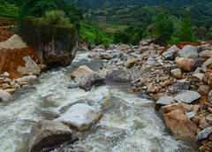 Strong and danger cold flowing river (phuong.sg@gmail.com) Tags: adventure asia asian autumn beautiful beauty blue clean cold cool creek danger dangerous environment flow flower flowing forest fresh glacier grass green impact landscape mountain mystic mystical national natural nature northwest park river rock sapa spring stone storm stream strong summer sun tourist travel vietnam water wild