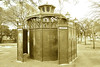 damen und herren (t.horak) Tags: park trees construction building toilets public art nuveau damen herren green berlin lamp lantern light