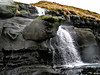 Basalt rock and a creek (Jan Egil Kristiansen) Tags: img2532 basalt creek rock waterfall stream water