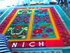 Sand Carpet (marymariachi) Tags: belize belizecity degihari sandmandala rug colors impermanent festival sand nich