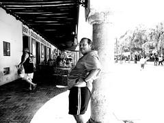 Ciudad Blanca y Negra I (Isaac Palacio) Tags: new bnw street photography blancoynegro noiretblanc pretoebranco zwartwit biancoenero blackandwhite streetphoto world miligramo yucatan outside 2018 people flickr national mexico latinamerica bw classic merida white city mg fractal mgartemg oh happy day ohhappyday