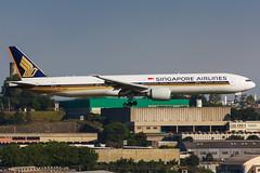 9V-SWE (rcspotting) Tags: 9vswe boeing 777300 singapore airlines gru sbgr