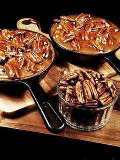 Brown Sugared Pecan Skillet Brownies