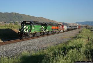 BNSF Denver-Stockton Manifest