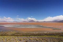 Laguna Colorada, Bolivia (khandozhkoa) Tags: nature landscape landscapesdreams skyline mountains sky clouds blue bolivia water travel traveler travels trips amateurs aroundtheworld sony sonyalpha 24105g fullframe wideangle