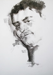 P1017930 (Gasheh) Tags: art painting drawing sketch portrait man charcoal pencil gasheh 2018