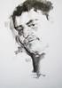 P1017930 (Gasheh) Tags: art painting drawing sketch portrait man charcoal pencil gasheh 2018