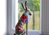 flowerbomb hare 047 (adore62) Tags: feltedfido felted flowerbomb hare handmade needlefelted embroideredfeltedhare embroidered embroidery colour flowers floral
