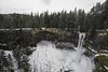 Brandywine Falls in Winter (wilbias) Tags: scenery brandywine falls whistler british columbia canada provincial park winter snow february cloudy waterfall long exposure bc