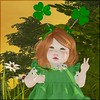 Happy St. Patty's! (bearritto) Tags: daisy crowley bebe body bad seed second life photo photography toddler toddleedoo alice clair de lune st saint patty patrick day 2018