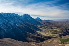 White ridge (Milos Golubovic) Tags: dry suva planina smrdan divljana bela palanka nis srbija serbia kosmovac winter snow white shade ridge viewpoint nikon d7100 sigma