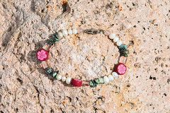Lost and Found (maytag97) Tags: bracelet jewellery jewelery fashion beads bracelets stone design jewelry bead beauty background vintage kids woman set glass round colours beautiful color