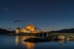 'Highland Twilight' - Eilean Donan Castle (Kristofer Williams) Tags: eileandonan castle twilight night sky water reflection highlands scotland isleofskye dusk landscape