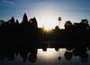 Ancient sunrise (carlosromonbanogon) Tags: angkor wat siem reap temple monument amazing fujifilm xt1 sunrise khmer sky reflexion cambodia south east asia