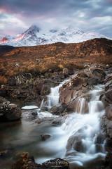 Sligachan-Falls- (deanallan) Tags: art blue cascade colors landscape light mountain ngc natgeo nature photography scotland sunrise travel uk view water waterfall