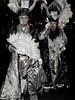 DSCN3972 (danimaniacs) Tags: westhollywood halloween costume mask black white feathers fan