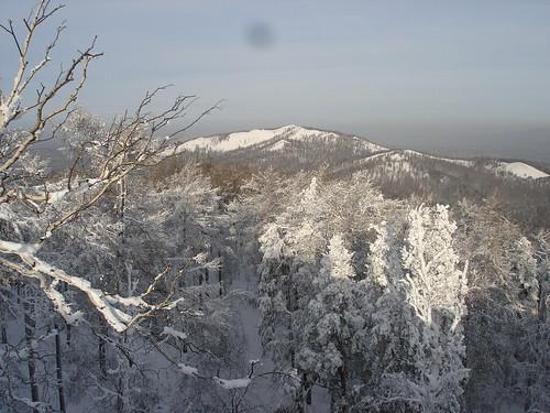 Вид на гору Егоза