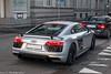 Audi R8 V10 Plus 2015 (Nico K. Photography) Tags: audi r8 v10 plus 2015 silver matte supercars nicokphotography switzerland zürich
