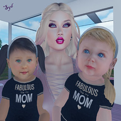 Ella et Leya ♥‿♥ (Sydney Levee) Tags: zooby baby babies bébé enfant child children enfants