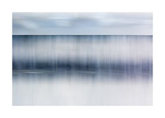 Horizon (catkin314) Tags: horizon sea sky blue beach water waves northwales icm intentionalcameramovement multipleexposure