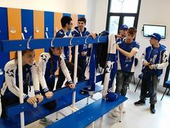 Bautismo vuelo #TeamClavería túnel de viento MadridFly 20