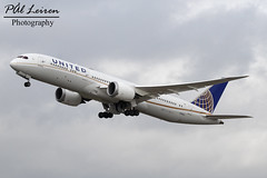 United Airlines - N19951 - 2018.03.10 - EGLL/LHR (Pål Leiren) Tags: london england heathrow lhr eggl flyplass airport planes plane planespotting aviation aircraft runway rw airplane canon7d 2018 airliner jet jetliner march march2018 egll heathrowairport londonheathrow uk unitedkingdom united airlines n19951 boeing 7879dreamliner b789 7879 dreamlinerb789 unitedairlines greatbritain great britain