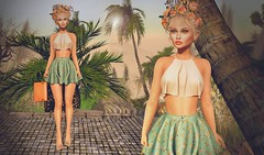 Spring Flowers (Cara Olivieri) Tags: lelutka glamaffair thesecretstore neve monso friday yummy lode mowie collabor88 bossie pandoraresort