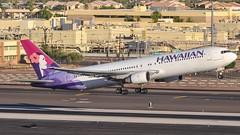 HAL 767-300 departing KPHX. (Alex Dalton Photography) Tags: n594ha hal 767 763 767300 hawaiian hawaiianairlines