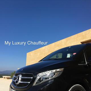 My Luxury Chauffeur - Mercedes V-Class @ Villa La Coste, Provence, France