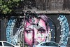 Caribbean street art = Guadeloupe (rossendale2016) Tags: guadeloupe terminal cruise staring else lady girl woman roadside road artistic picturesque clever colourful art street caribbean