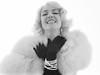 Erika (jerseytom55) Tags: pentax645z blackandwhite beautifulwoman blond marilynmonroe bertstern pearls fauxfur mm highkey