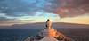 View from the Bridge (chantsign) Tags: cruiseship hawaii kauai mountains coastline clouds dusk sundown blue