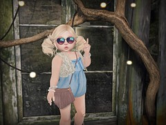 Mystic Timbers Photo Contest N1 (Lexane Luciano) Tags: mystictimberphotocontest toddleedoo bento weshwesh attitude babygirl secondlife mesh peace love