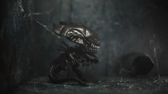 A Place to Nest (3rd-Rate Photography) Tags: alien alienqueen xenomorph funko funkopop toy toyphotography vinyl diorama canon jacksonville florida 3rdratephotography earlware 365