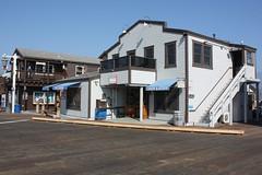 Santa Barbara (davidjamesbindon) Tags: town america states united usa california barbara santa building shop jetty pier dock